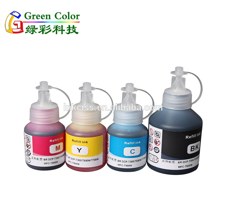 Premium water based dye refill ink compatible for Brother DCP T300 printers